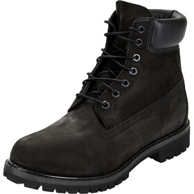 "Timberland Icon Collection Premium Boots Men 6"" Black Nubuck"